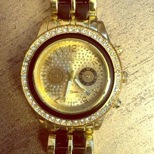 Michael Kors Black/Gold Watch
